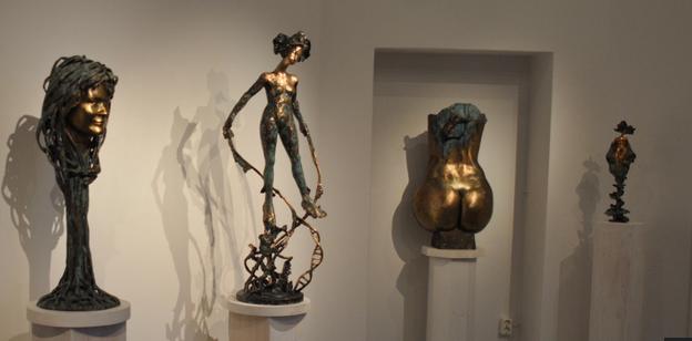 Swedish sculptor grand exhibition in Linköping